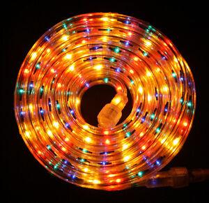 Flexilight multi color rope light 12ft 110v 120v 2 wire 12 image is loading flexilight multi color rope light 12ft 110v 120v aloadofball Gallery