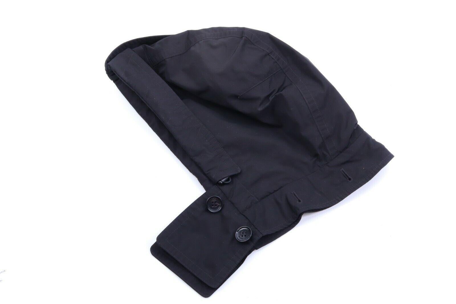 Burberry negro capucha talla única