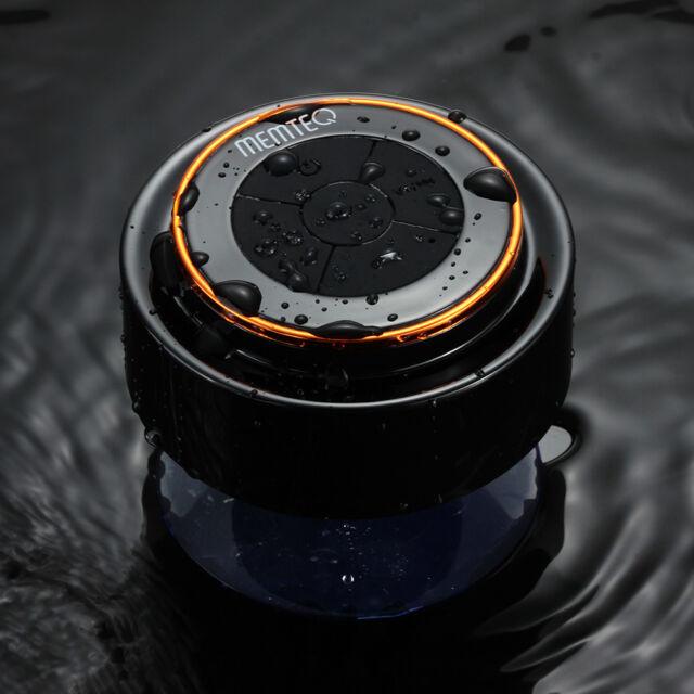 MEMTEQ Enceintes Haut-Parleur Bluetooth Etanche à Ventouse Portable Main Libre