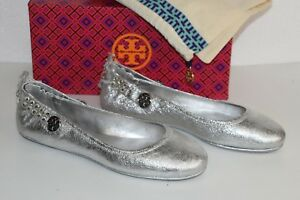 ed1f60b36909a7 Image is loading NEW-Tory-Burch-MINNIE-Crystals-EMBELLISHED-TWO-WAY-