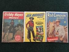 Lot of 3 Western Comic Books (Fawcett Publication)
