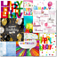 thumbnail 4 - Doodlecards Pack of 10 Square Contempory Mixed Birthday Cards