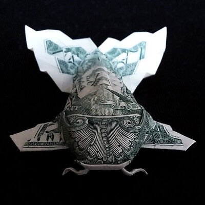 Dollar Koi Fish origami tutorial | Dinero de origami, Animales de ... | 400x400