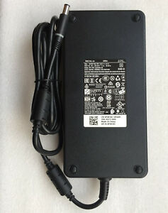 240W Dell Precision M6800 mobile workstation Laptop power supply ac adapter cord
