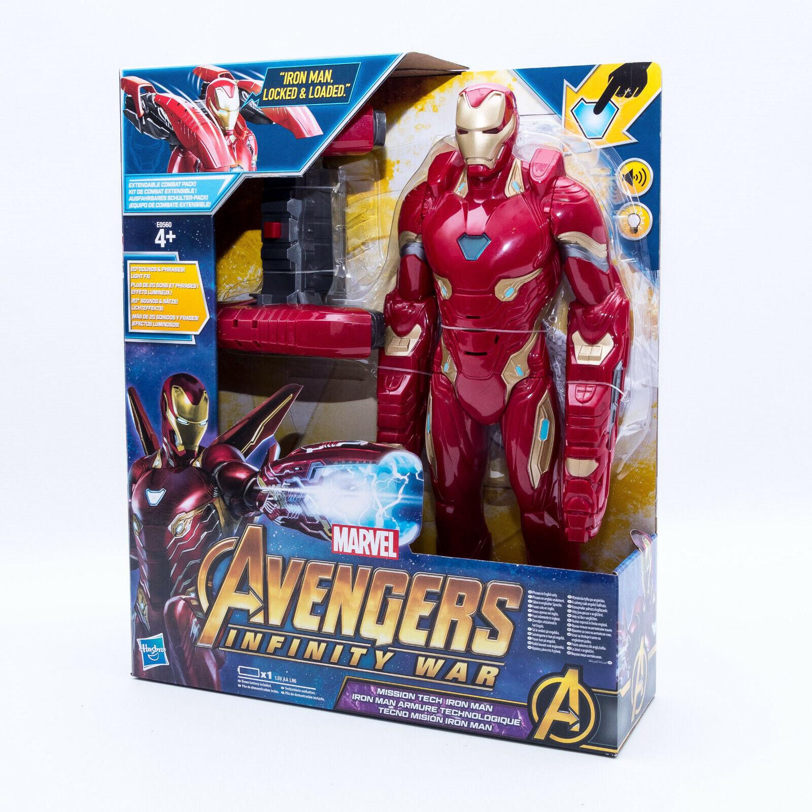 Hasbro E0560 Marvel Avengers Infinty War Ironman Actionfigur 35 cm. mit Sound  | Angemessener Preis
