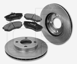 2-Bremsscheiben-und-4-Bremsbelaege-AUDI-80-B3-vorne-Vorderachse-256-mm-belueftet