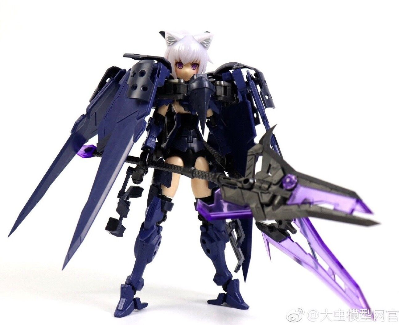 1 12 Pretty Armor Anime Model Kit FRAME ARMS GIRL Gundam PVC Action Figure  V2