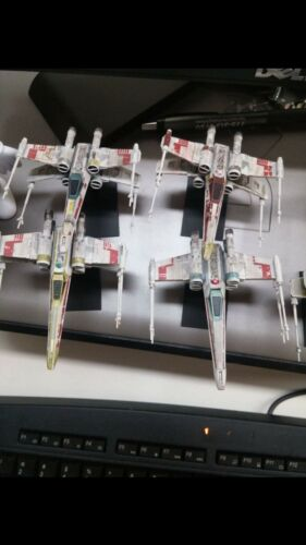 bandai vehicle model 002 1//144 x wing waterslide decals full rogue squadron
