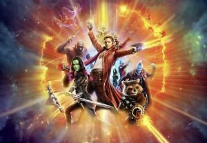Image Is Loading Wallpaper 368x254cm Guardians Of The Galaxy Wall Mural