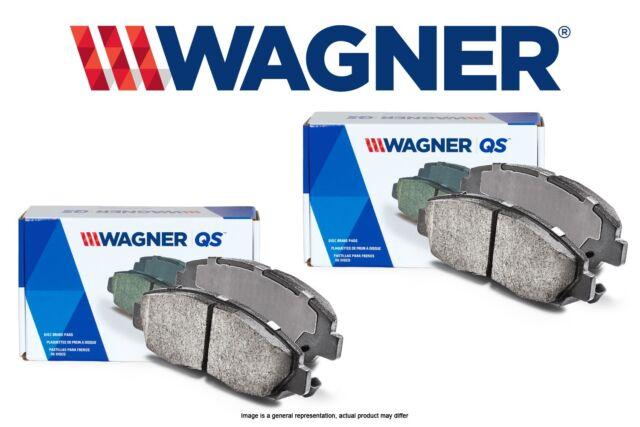 Wagner QuickStop ZD1324 Ceramic Disc Pad Set Front