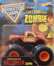 Monster Jam Hot Wheels Halloween Zombie truck 1:64 new