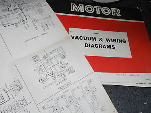 1965 1969 ford falcon wiring diagrams manual sheets set ebay rh ebay com