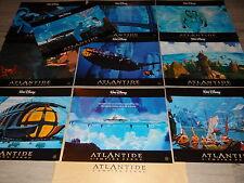 ATLANTIDE  ! walt disney photos cinema prestige lobby cards