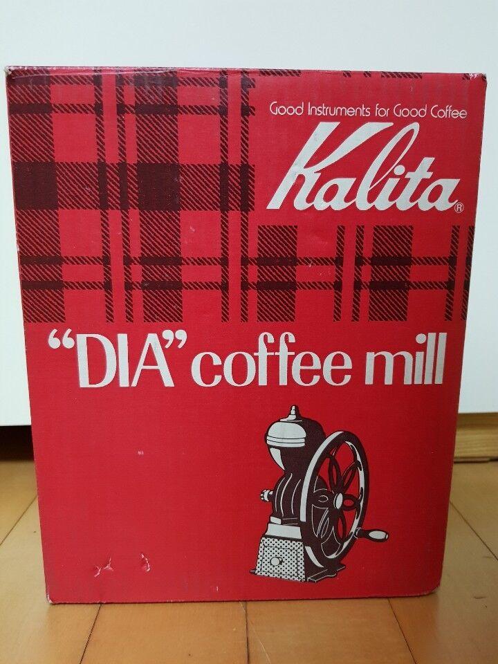 Kalita Dia Moulin à café main noire Mill Moulin à café