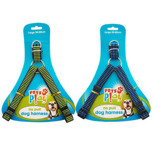 Puppy-Dog-No-pull-Harness-Reflective-Adjustable-Large-With-Night-Reflective-Line