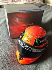 Schuberth Minichamps 1:8 Mini F1 casco de Michael Schumacher Spa 2011