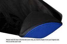 Diseño 2 Negro & R Azul personalizado se adapta a Honda Cbr 1000 Rr 08-12 Fireblade almohadilla cubierta