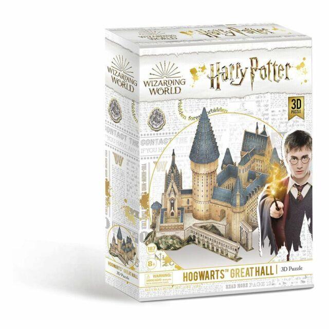 Puzzle 3D Harry Potter : Grande Salle - CubicFun/Revell (Neuf)