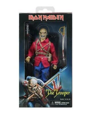 """Nouveau 8/"""" Clothed Action Figure /""""Eddie/"""" The Trooper Iron Maiden"""
