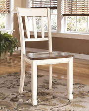 Whitesburg Brown Cottage White Dining Room Side Chair Set Of 2