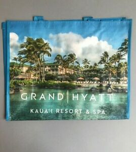 GRAND-HYATT-KAUAI-Eco-Tote-Grocery-Travel-Vacation-Errands-NEW