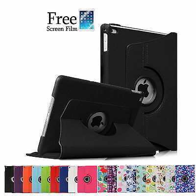 360 Rotating Smart Cover Case for Apple New iPad 4 3 2