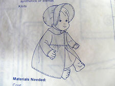 """FISHER-PRICE TOYS"" Pattern for doll clothing-Jenny+Baby Soft Sounds+Mandy+Mikey"