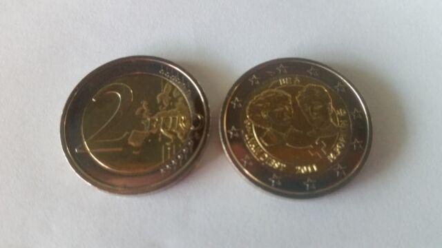 2 Euro Sondermünze Belgien 2011, Int. Frauentag unc.