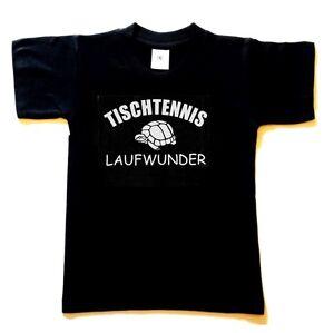 Das Bild Wird Geladen Sprueche Sport T Shirt Schwarz Tischtennis LAUFWUNDER  Spruch