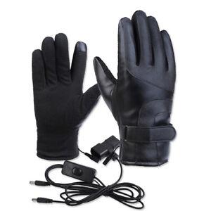 Guanti-Riscaldati-Invernali-Guanti-Termici-Elettrici-Scaldanti-Guanti-Moto-G5Q2