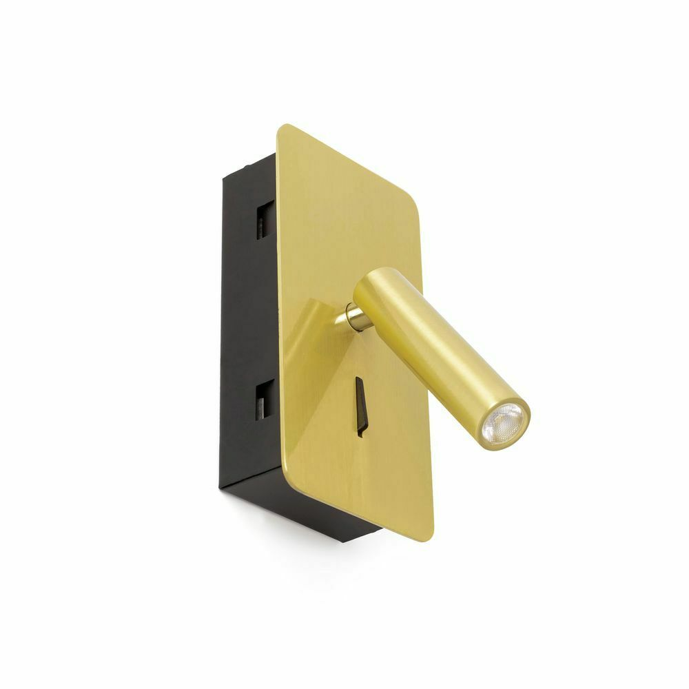 LED Einbauleuchte SUAU IP20 Goldfarben-Satin