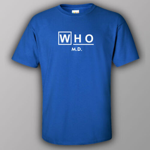 Doctor WHO inspired Funny male//unisex T-shirt MD TV show star wars trek Dr