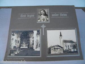 ca-1920-Fotos-der-Pfarrkirche-4912-NEUHOFEN-Ried-Innkreis-Gott-segne-unser-Heim