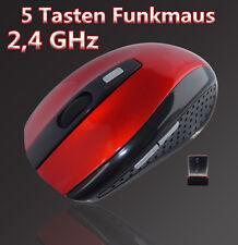 Wireless Kabellos Optische Funkmaus 1600 DPI USB Notebook PC Computer Maus Mouse