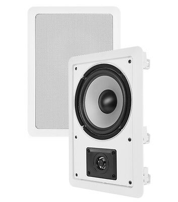 "VM Audio Shaker 6.5"" 200W 2 Way In-Wall Surround Sound Home In Wall Speaker"