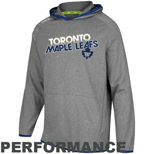 NHL Reebok Toronto Maple Leafs Travel and Training Performance Pullover 2XL