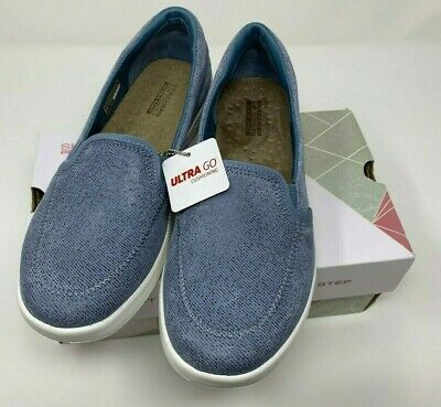 go Bliss Loafers(16526)- Blue