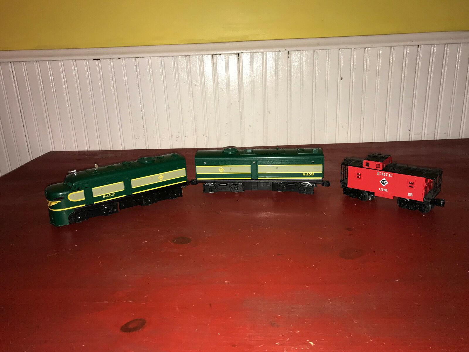Lionel Erie CAB  8452 & 8453 AB Unità & Caboose