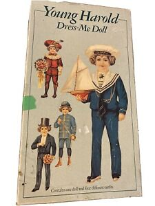 Paper-Masters-Young-Harold-Dress-Me-Doll-Paperdoll-From-The-UK