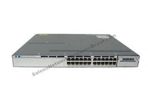 Details about Cisco WS-C3750X-24P-S 24-Port PoE Gigabit 3750X Switch w/ AC  - 1 Year Warranty