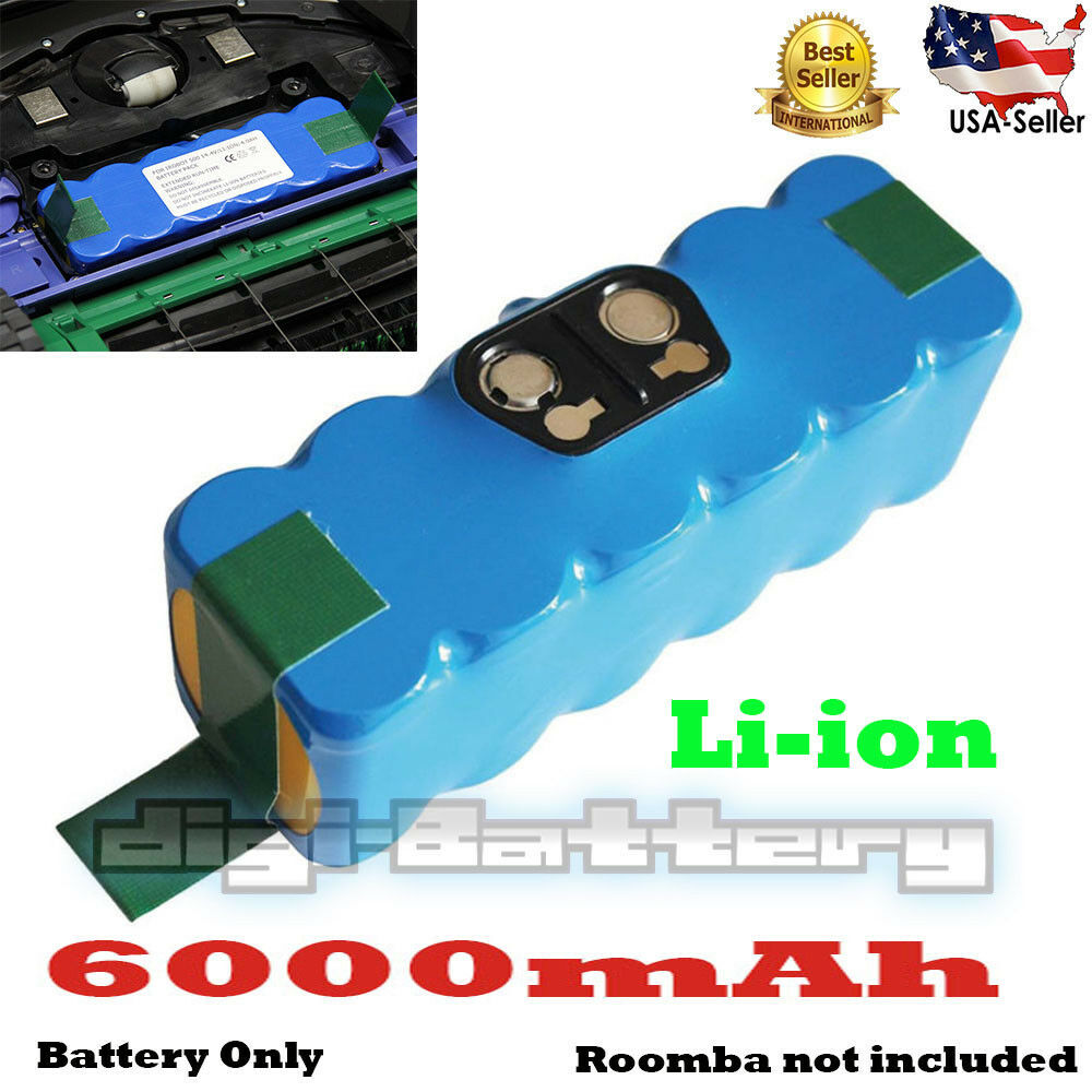 BATTERY For iRobot Roomba 880 & 900 Extended 6000mAh Lithium-ion