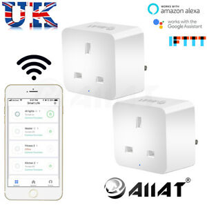 AIIAT-WIRELESS-WIFI-SMART-SOCKET-PLUG-TIMER-CONTROL-SWITCH-AMAZON-ALEXA-IFTTT