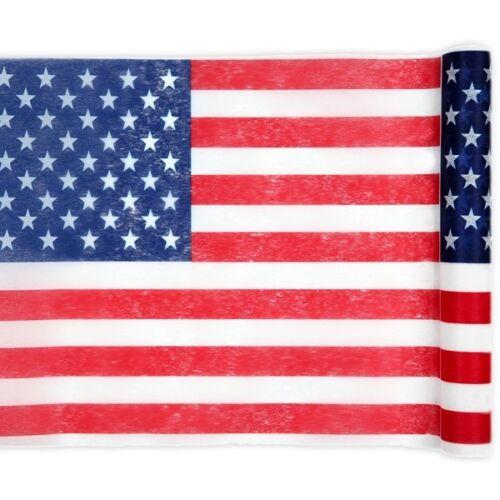 Tischläufer USA 5mx30cm,Polyester