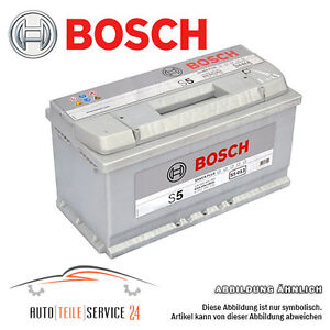 bosch 100 ah car battery s5 013 12v 100ah up to 130 power