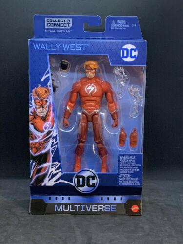 DC Multiverse Wave 11 Wally West The Flash Click /& Connect NINJA BATMAN