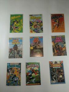 Lot Of 9 Eclipse & DC Comics DNAgents Sky Wolf Omega Men