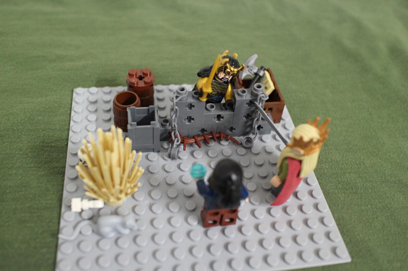 Lego König Thranduil König Thorin Bard