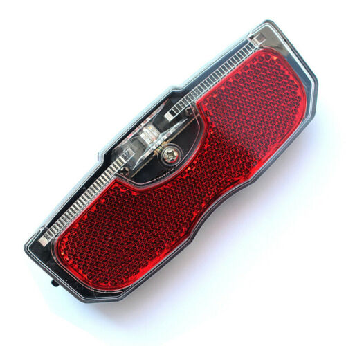 1pc Bike Cycling Bicycle Rear Reflector Tail Light For Luggage Rack ~NO Battery~