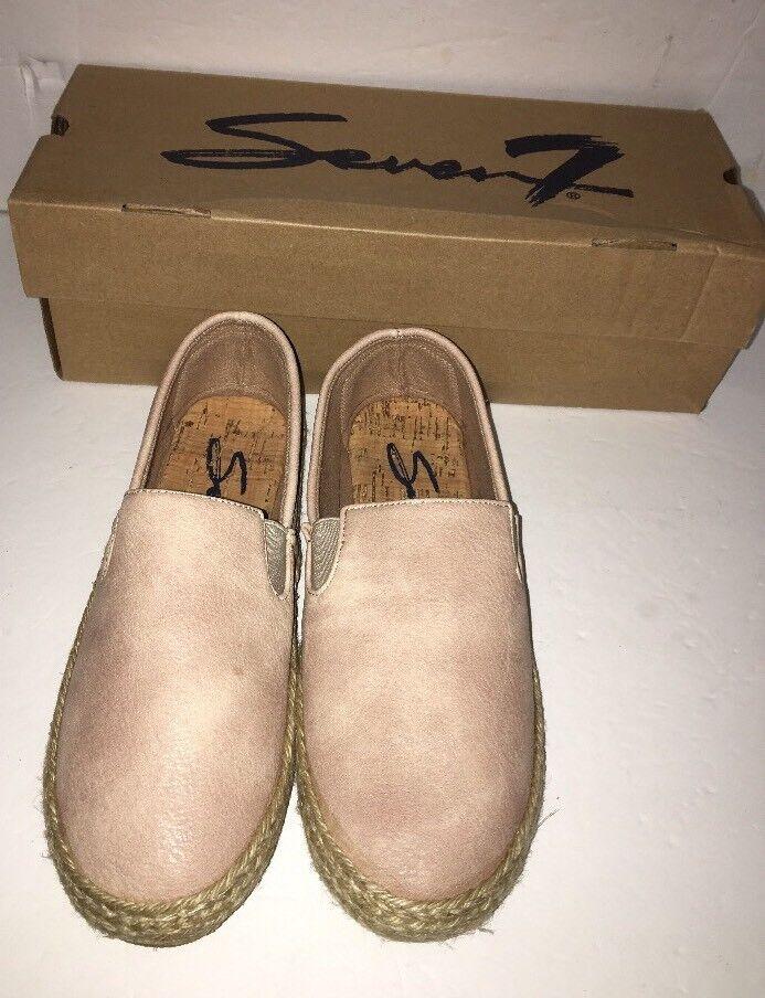 Seven 7 Footwear Cape green Beige Size 6 Women's shoes-SHIPS N 24 HOURS