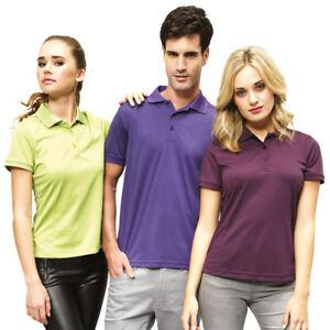 Premier-Para-hombres-A-La-Moda-Pique-Polo-Cuello-de-punto-Camiseta-Elegante-Informal-Camiseta